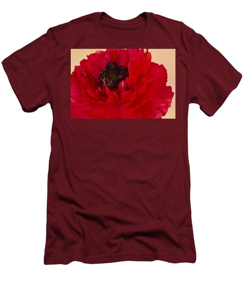 Vibrant Petals Men's T-Shirt (Athletic Fit)