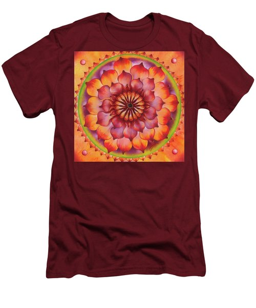 Vibration Of Joy And Life Men's T-Shirt (Athletic Fit)
