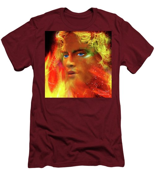 Men's T-Shirt (Athletic Fit) featuring the photograph Vulcan by LemonArt Photography