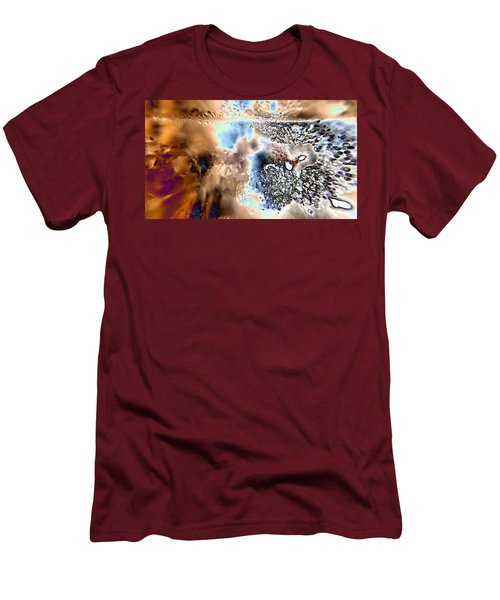 Water Abstract 9 Men's T-Shirt (Athletic Fit)