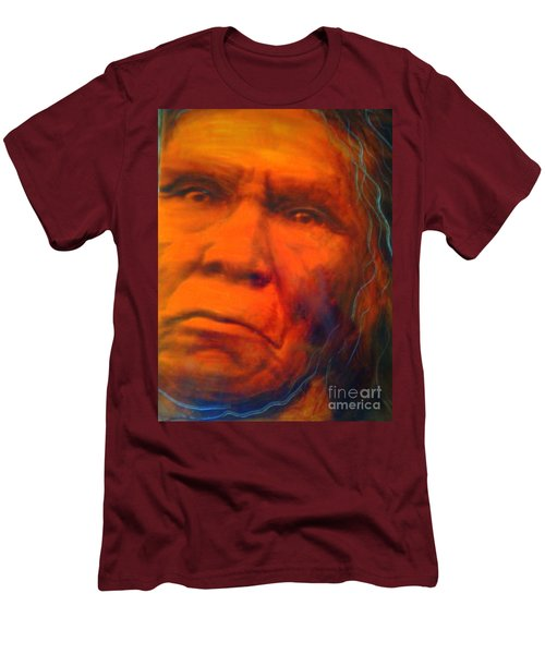 We Are First Nation Men's T-Shirt (Slim Fit) by FeatherStone Studio Julie A Miller