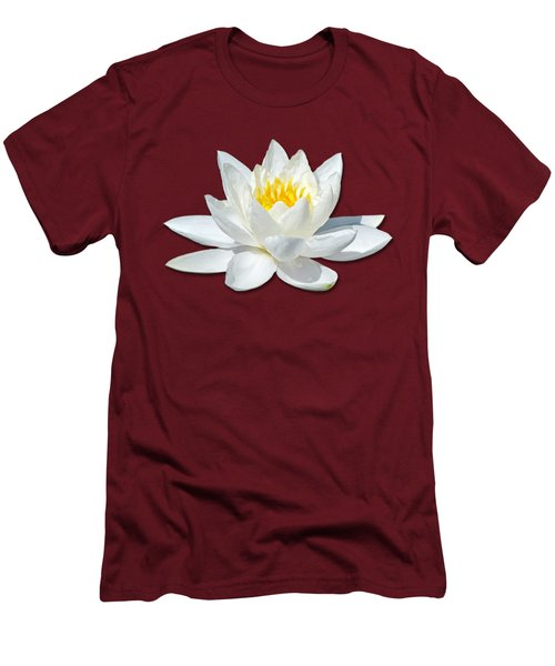 White Lily 2 Men's T-Shirt (Slim Fit) by Bob Slitzan