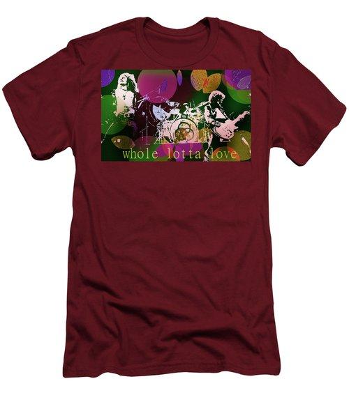 Whole Lotta Love  Men's T-Shirt (Athletic Fit)