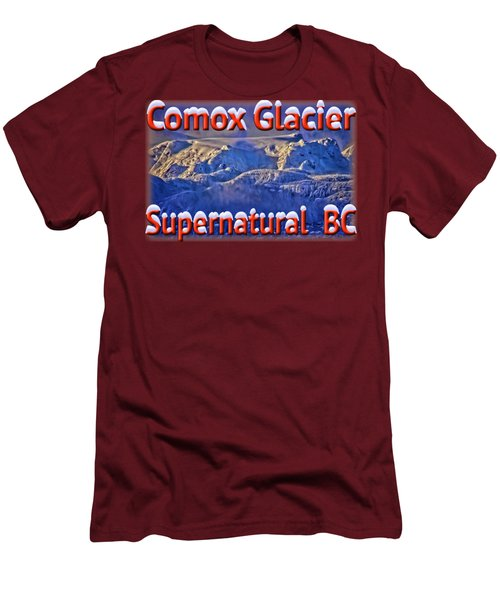 Windstorm On Comox Glacier Men's T-Shirt (Athletic Fit)