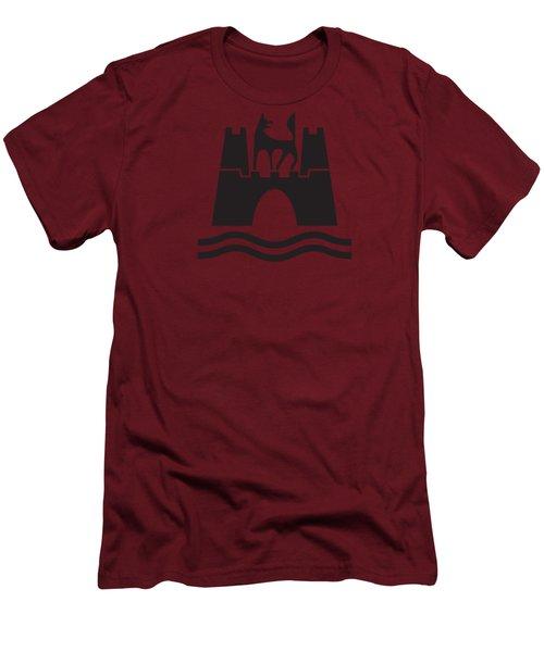 Wolfburg Logo Men's T-Shirt (Slim Fit) by Ed Jackson