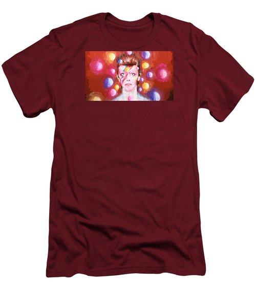 Ziggy Stardust  Men's T-Shirt (Slim Fit) by Louis Ferreira