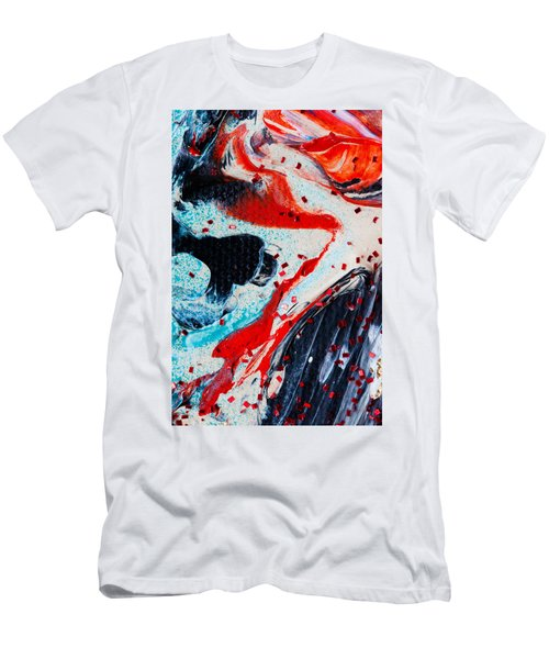 Abstract Original Artwork One Hundred Phoenixes Untitled Number Fifteen Men's T-Shirt (Athletic Fit)