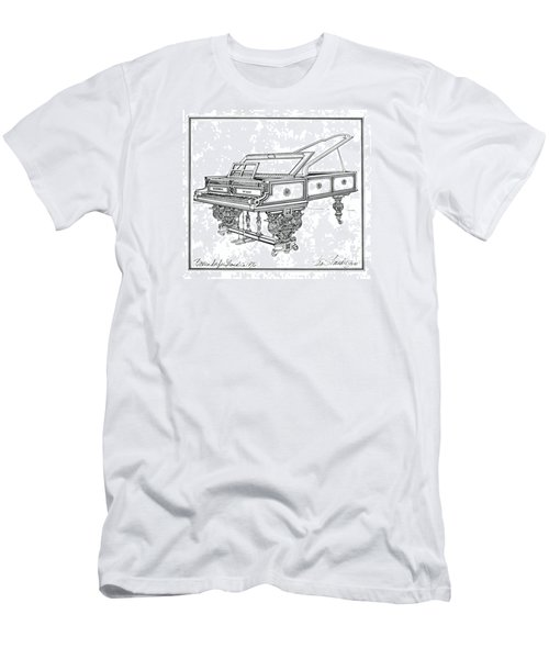 Bosendorfer Centennial Grand Piano Men's T-Shirt (Slim Fit) by Ira Shander