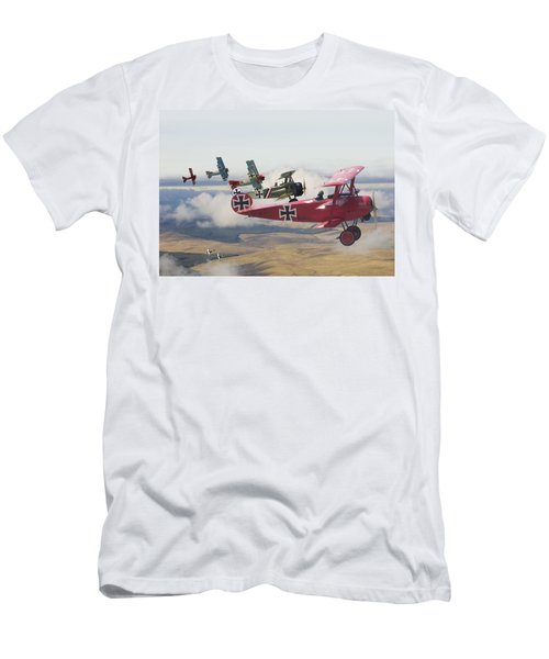 Circus Comes To Town Men's T-Shirt (Athletic Fit)