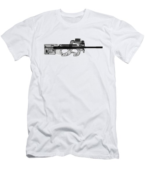 Fn Ps90 X-ray Photograph Men's T-Shirt (Athletic Fit)