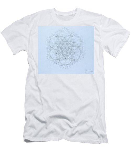 Quantum Snowflake Men's T-Shirt (Athletic Fit)