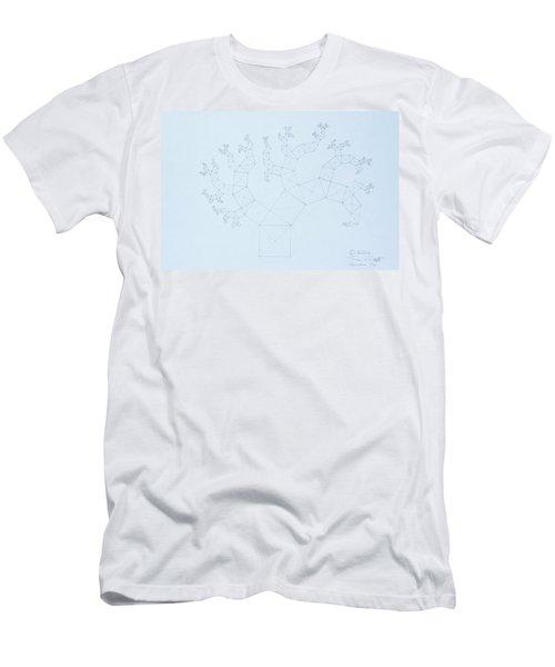 Quantum Tree Men's T-Shirt (Athletic Fit)