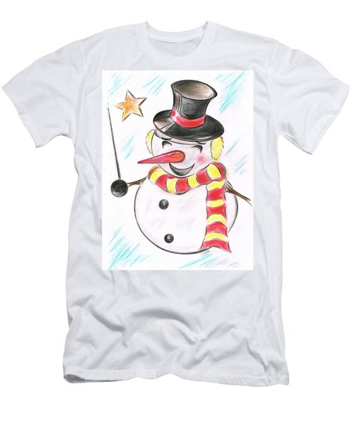 Snowmans  Stardom Men's T-Shirt (Athletic Fit)