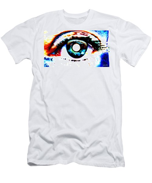 Travelling View  Through 26 Spacetime Dimensions In The Bosonic String Men's T-Shirt (Slim Fit) by Sir Josef - Social Critic -  Maha Art