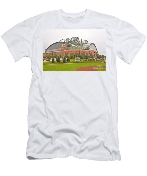 0622 Milwaukee's Miller Park Men's T-Shirt (Slim Fit) by Steve Sturgill