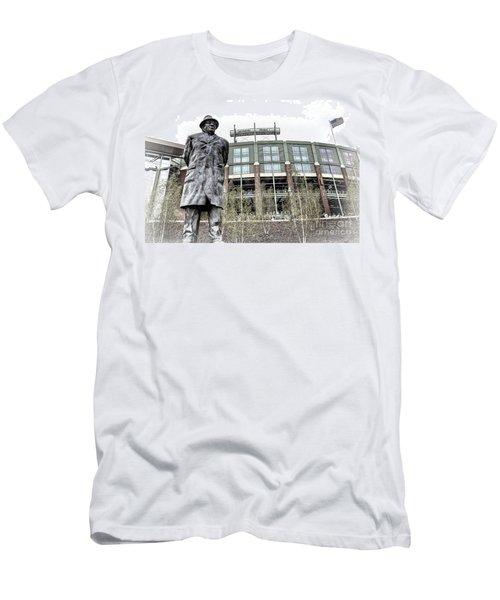 0855 Lombardi Statue Men's T-Shirt (Athletic Fit)
