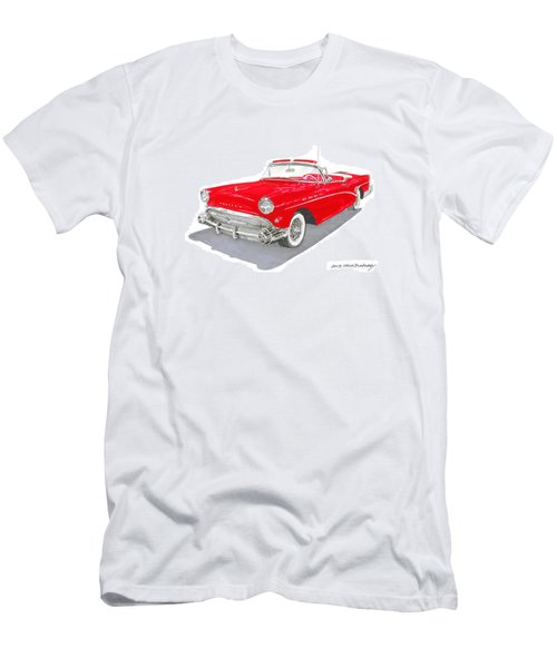1957 Buick Special Convertible Men's T-Shirt (Athletic Fit)