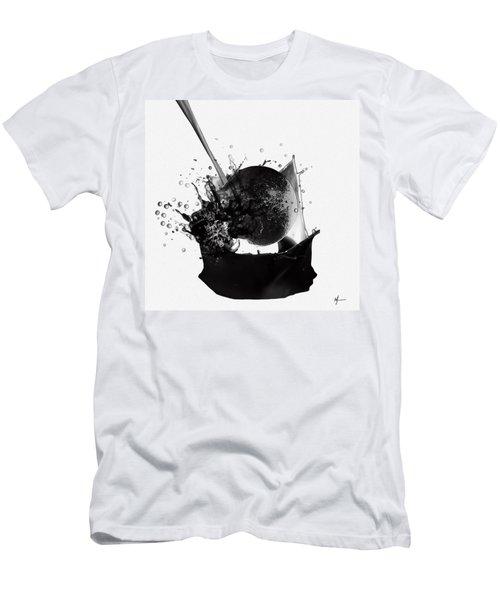 A World Within My Paint Pot ...---.... Men's T-Shirt (Slim Fit) by Sir Josef - Social Critic -  Maha Art