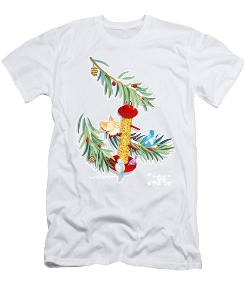 All About Sharing Men's T-Shirt (Athletic Fit)