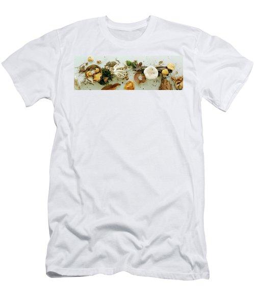 An Assortment Of Mushrooms Men's T-Shirt (Athletic Fit)