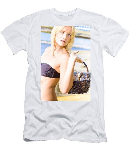 Beach Escape Men's T-Shirt (Athletic Fit)