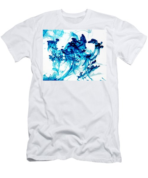 Blue Chaos Men's T-Shirt (Athletic Fit)