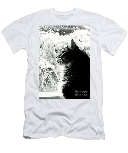 Men's T-Shirt (Slim Fit) featuring the photograph Bo by Jacqueline McReynolds