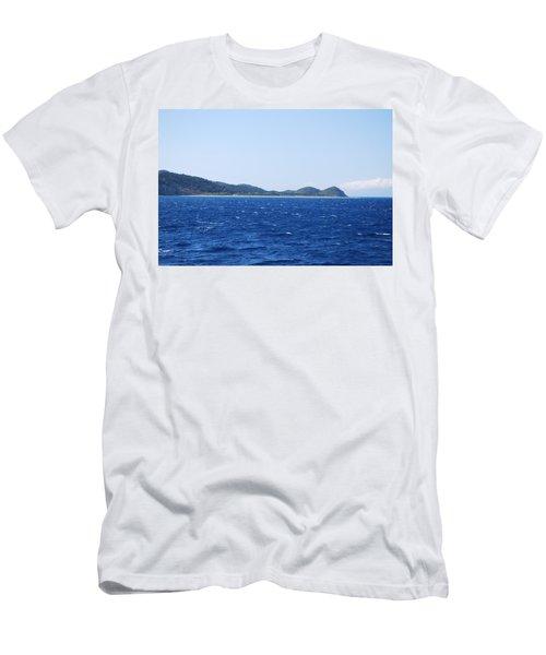 Bragini Beach Men's T-Shirt (Athletic Fit)