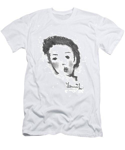 Bubble Gum Men's T-Shirt (Slim Fit) by Laurie L