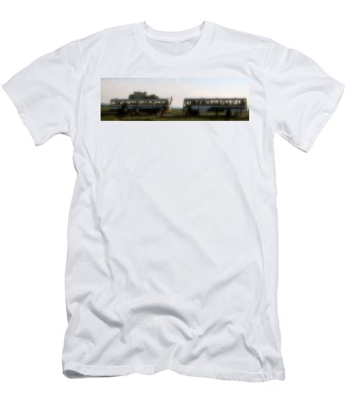 Bus Stop Men's T-Shirt (Athletic Fit)