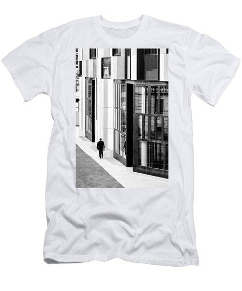Business Man In Milan Men's T-Shirt (Athletic Fit)