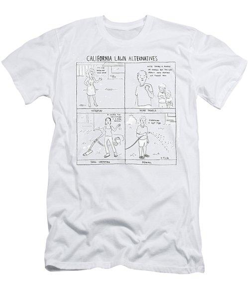 California Lawn Alternatives Men's T-Shirt (Athletic Fit)