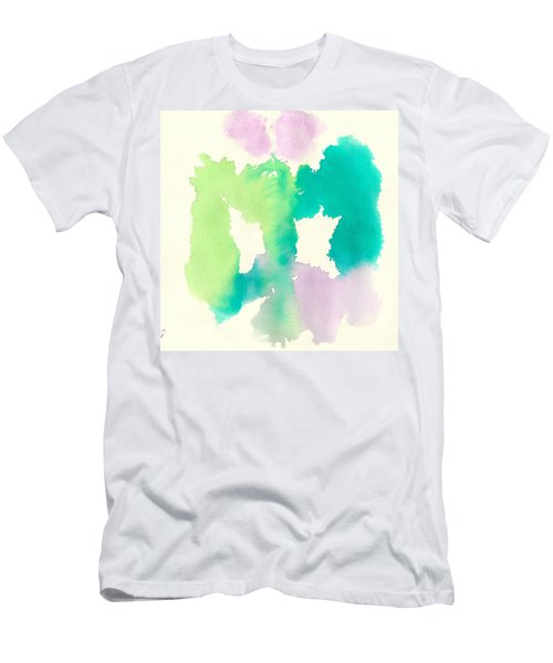 Men's T-Shirt (Slim Fit) featuring the painting Cocoon by Frank Bright