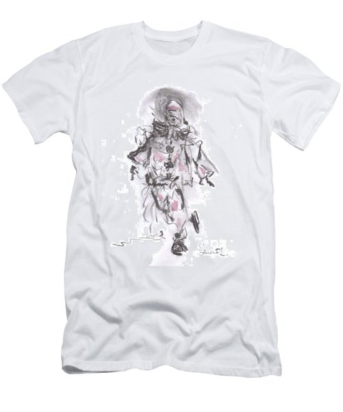 Dancing Clown Men's T-Shirt (Athletic Fit)