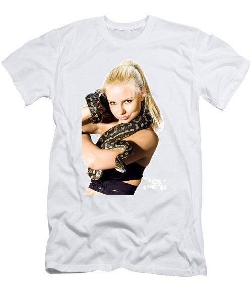 Danger Woman Men's T-Shirt (Athletic Fit)