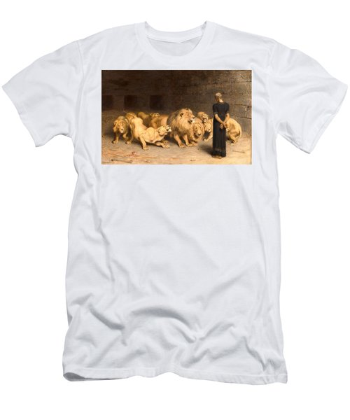 Daniel In The Lions' Den Men's T-Shirt (Athletic Fit)