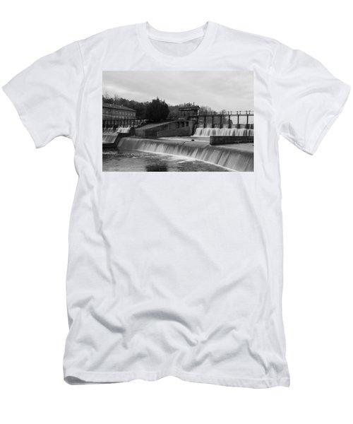 Daniel Pratt Cotton Mill Dam Prattville Alabama Men's T-Shirt (Athletic Fit)