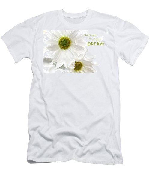 Dreams With Message Men's T-Shirt (Athletic Fit)