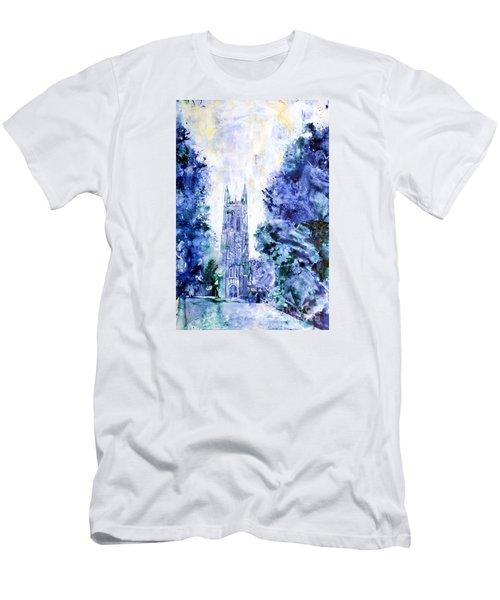 Duke Chapel Men's T-Shirt (Slim Fit) by Ryan Fox