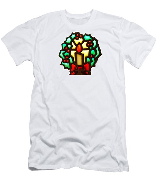 Men's T-Shirt (Slim Fit) featuring the photograph Happy Holidays by Ludwig Keck