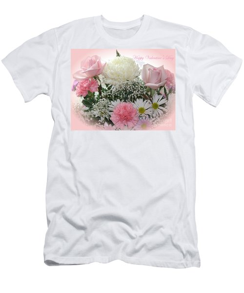 Happy Valentine's Day Men's T-Shirt (Athletic Fit)
