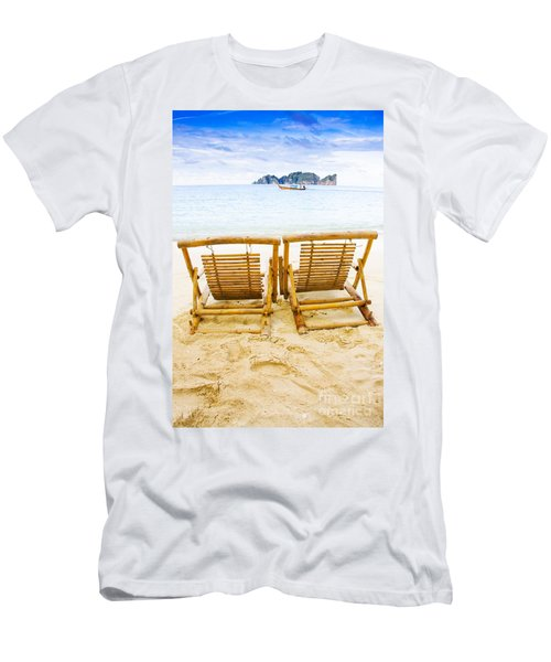 Holiday In Thai Paradise Men's T-Shirt (Athletic Fit)