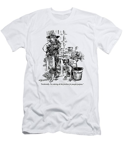 Incidentally Men's T-Shirt (Athletic Fit)
