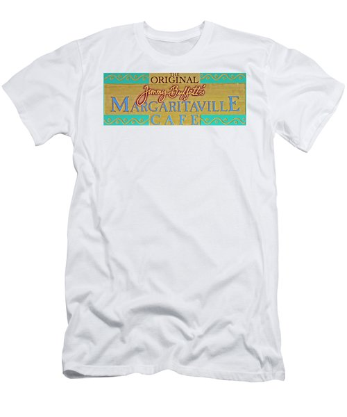Jimmy Buffetts Margaritaville Cafe Sign The Original Men's T-Shirt (Athletic Fit)