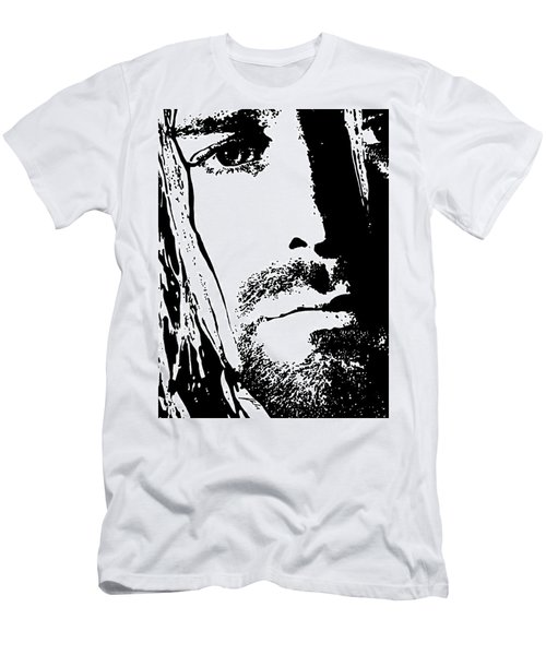 Kurt Cobain  Men's T-Shirt (Athletic Fit)