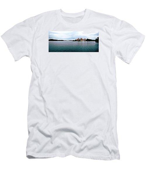 Lithuanian Castle Men's T-Shirt (Slim Fit) by Kate Black