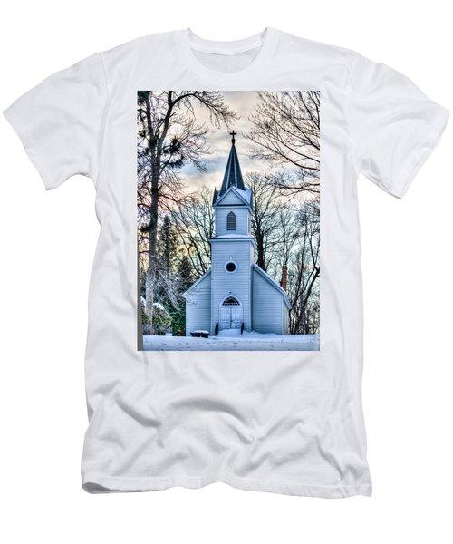 Maria Chapel Men's T-Shirt (Slim Fit) by Paul Freidlund