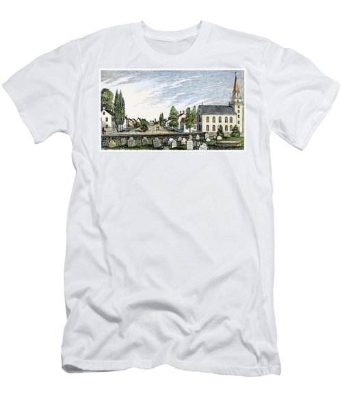 New Jersey Swedesboro Men's T-Shirt (Athletic Fit)
