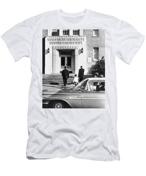 New Orleans School Integration Men's T-Shirt (Athletic Fit)