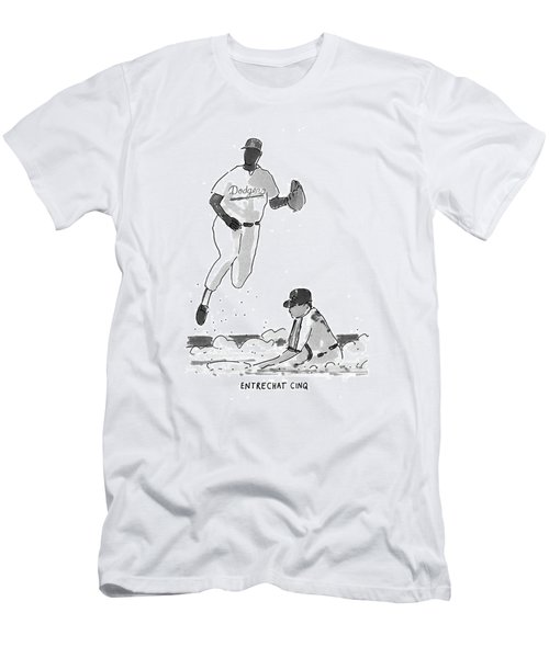 New Yorker July 19th, 1993 Men's T-Shirt (Athletic Fit)